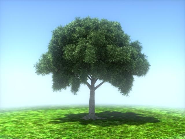 3d tree speed