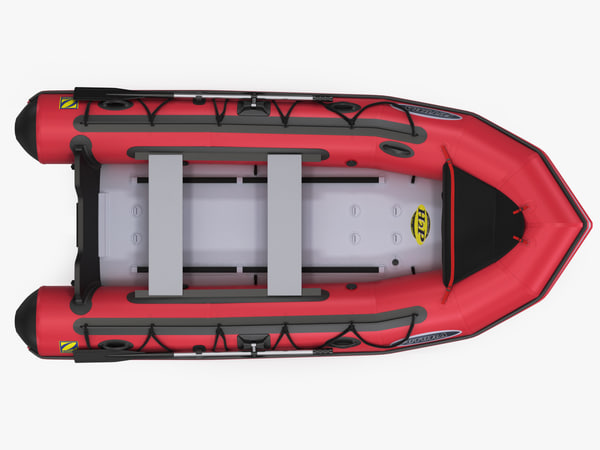 3d inflatable boat zodiac mark-2