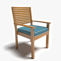 Patio Chair With Arms