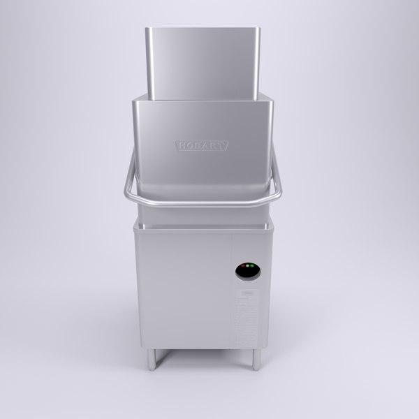 3d hobart dishwasher