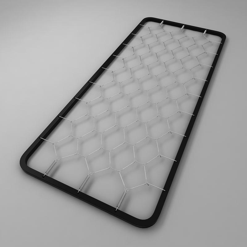 support mattress spring 3d max