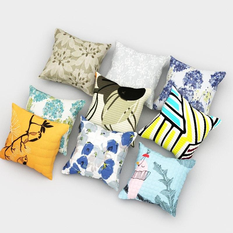 pillows 31 3d fbx