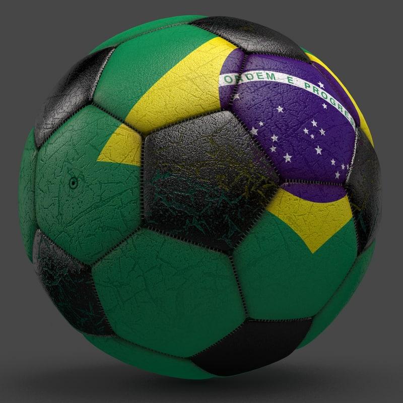 soccerball ball 3d model