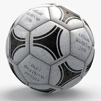 Soccerball pro white triangles text