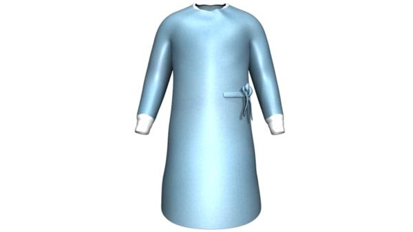 maya surgical dress