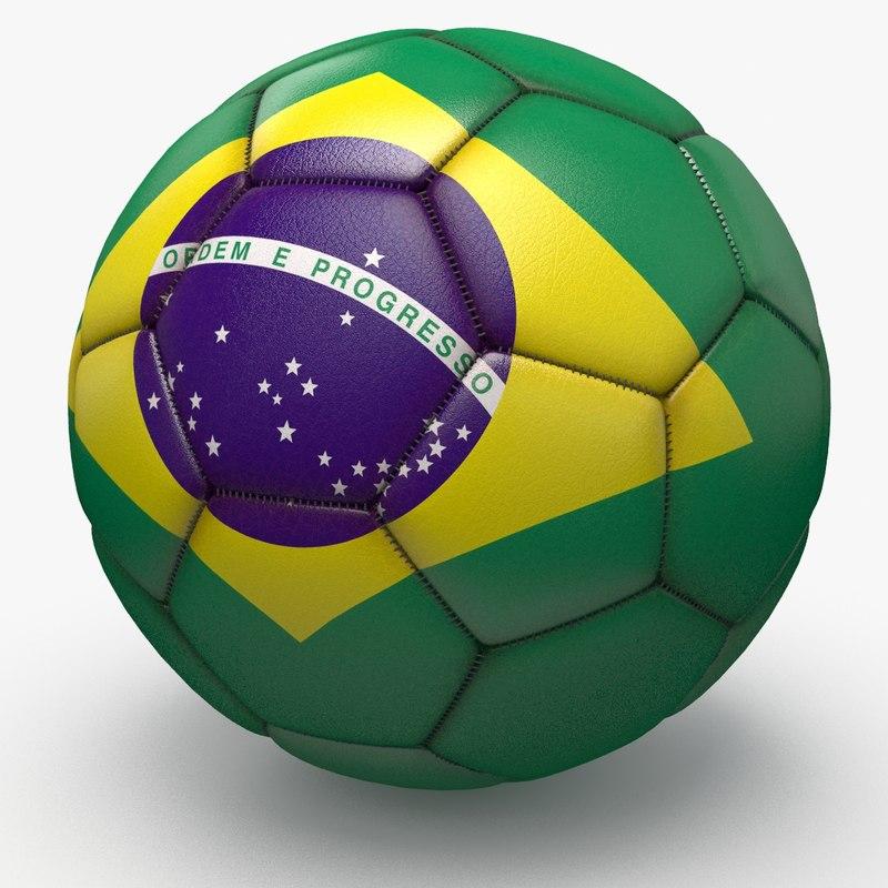 soccerball pro ball 3d model