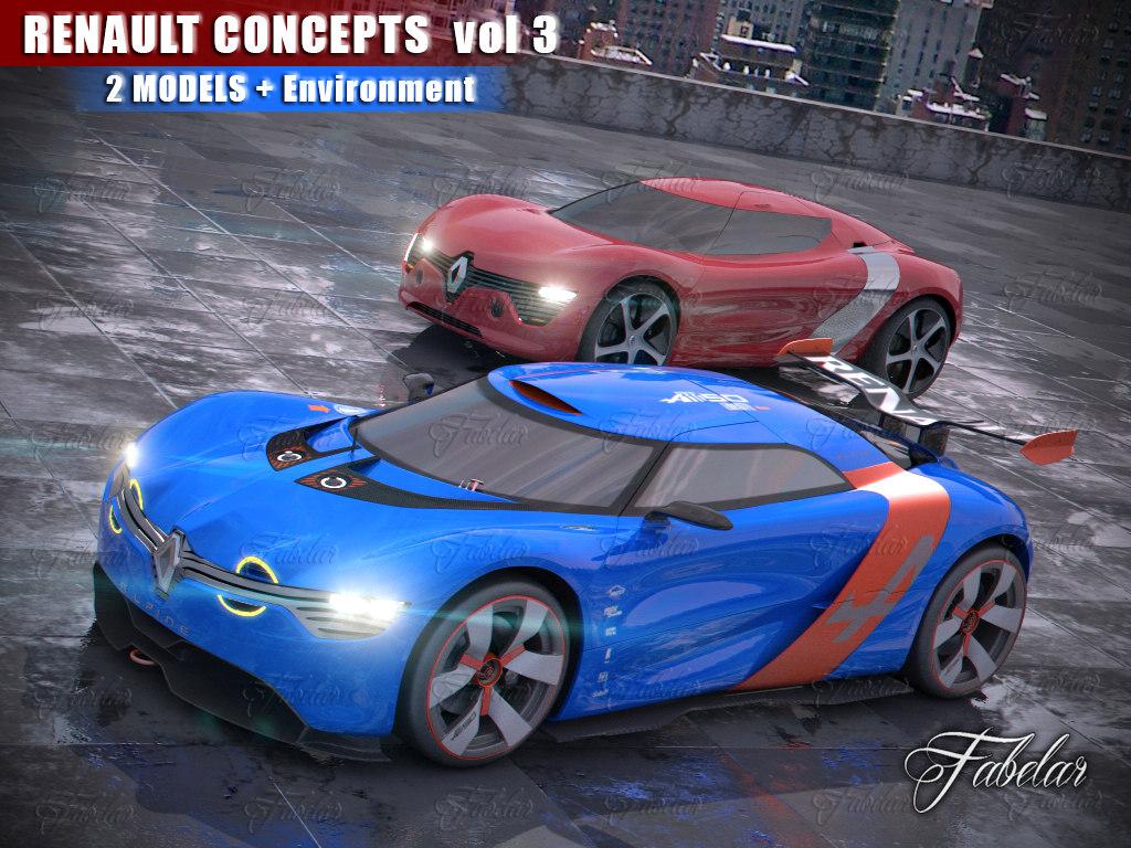 renault concepts vol 3 max