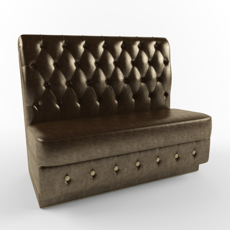 sofa phaeton 3d model