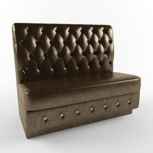 sofa phaeton 3d model