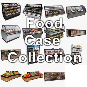 model food cases