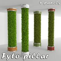 3d model fyto pillar