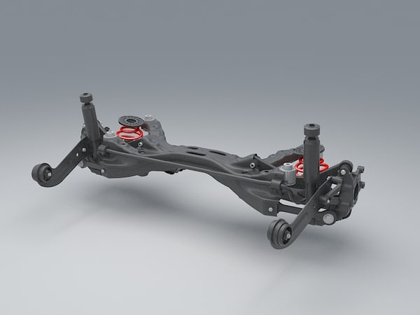 max rear suspension car