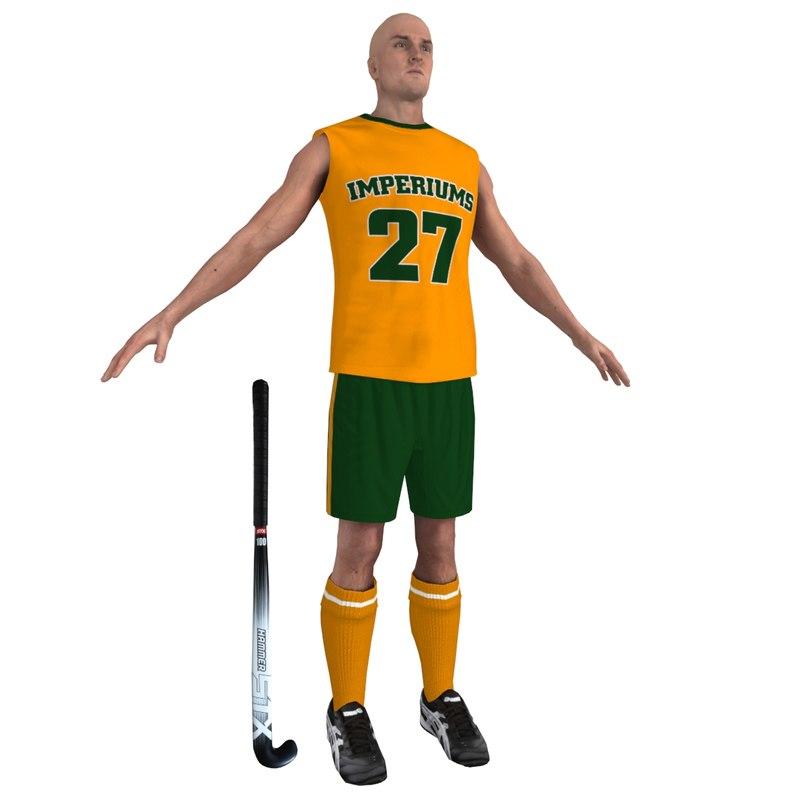 field hockey player max