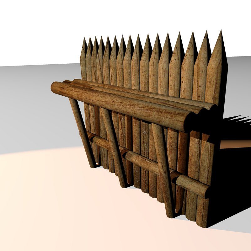 3d wall defence model