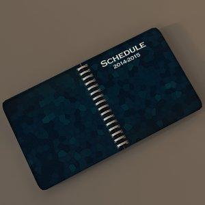 agenda 3d fbx