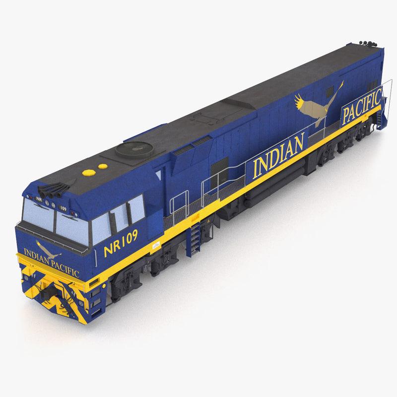 3d australian train sydney