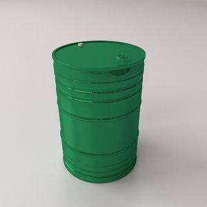 oil drum 3ds