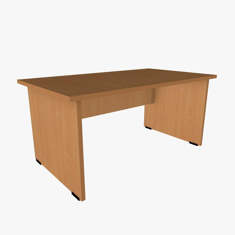3d desks file formats model