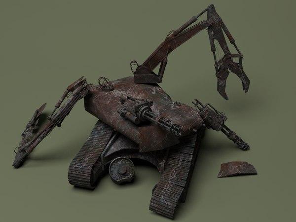 max blasted robot destroyer