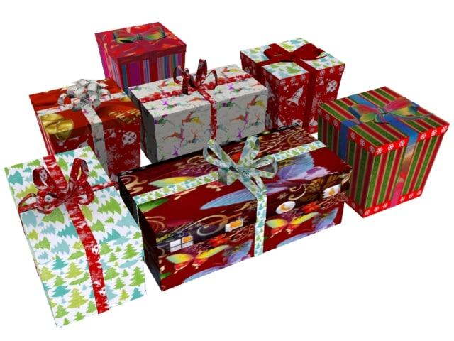 max christmas gift box