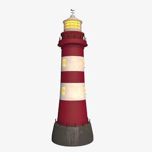 lighthouse 3d max