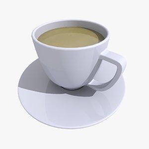 tea cup 3 3d 3ds