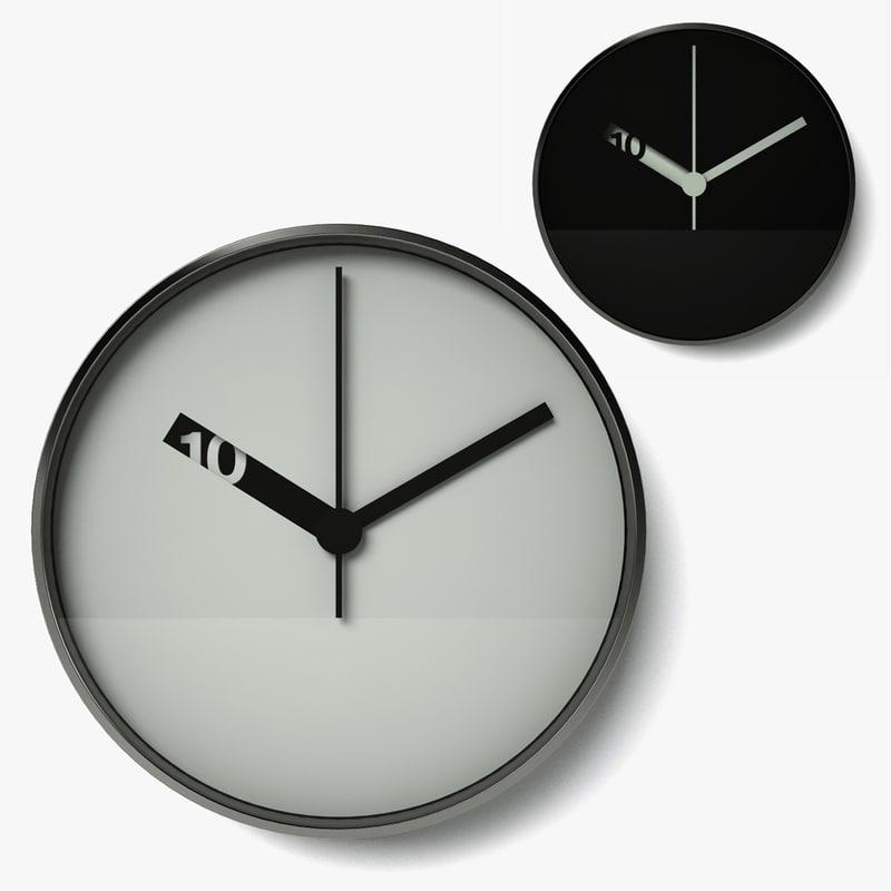 c4d extra normal wall clock