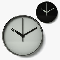 c4d extra normal wall clock