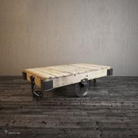 3dsmax furniture factory cart