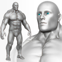 Muscular Man 3 Zbrush Sculpt