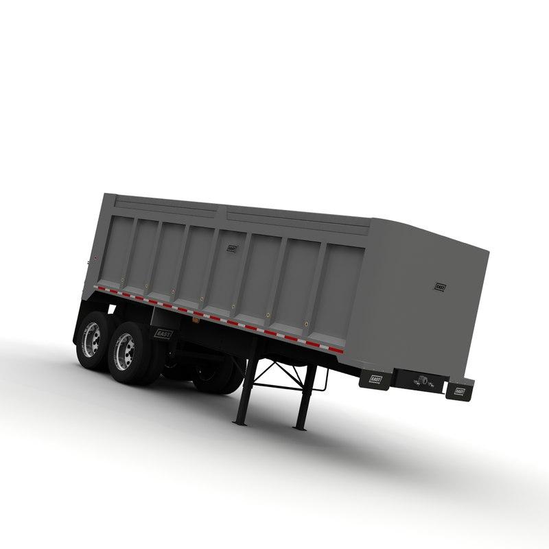 east mfg dump trailer lwo
