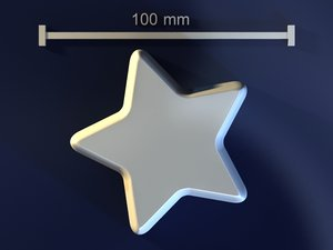 star mold hand max free