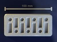 3d model brick mold hand