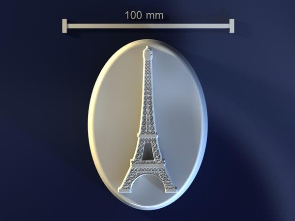 eifel tower 3d model