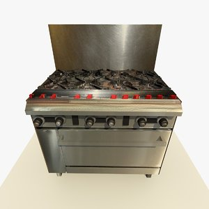 3ds max old commercial cooker