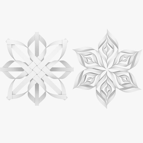 origami snowflake v1 max