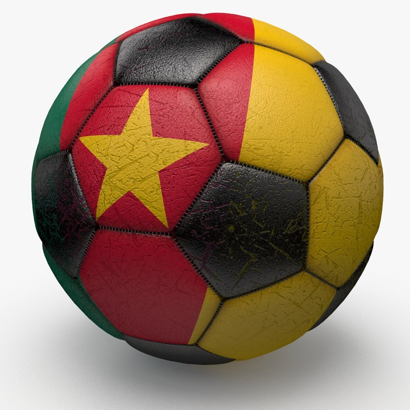 soccerball ball 3d dxf