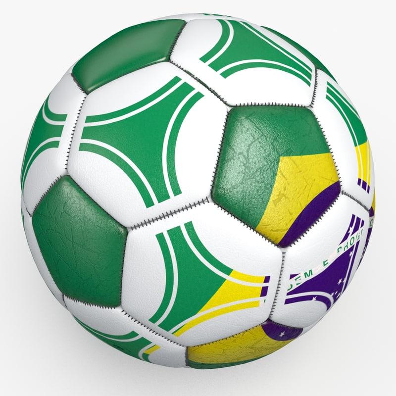 3d model soccerball pro ball