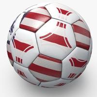 soccerball pro ball 3d dxf