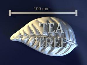tea tree 3d obj
