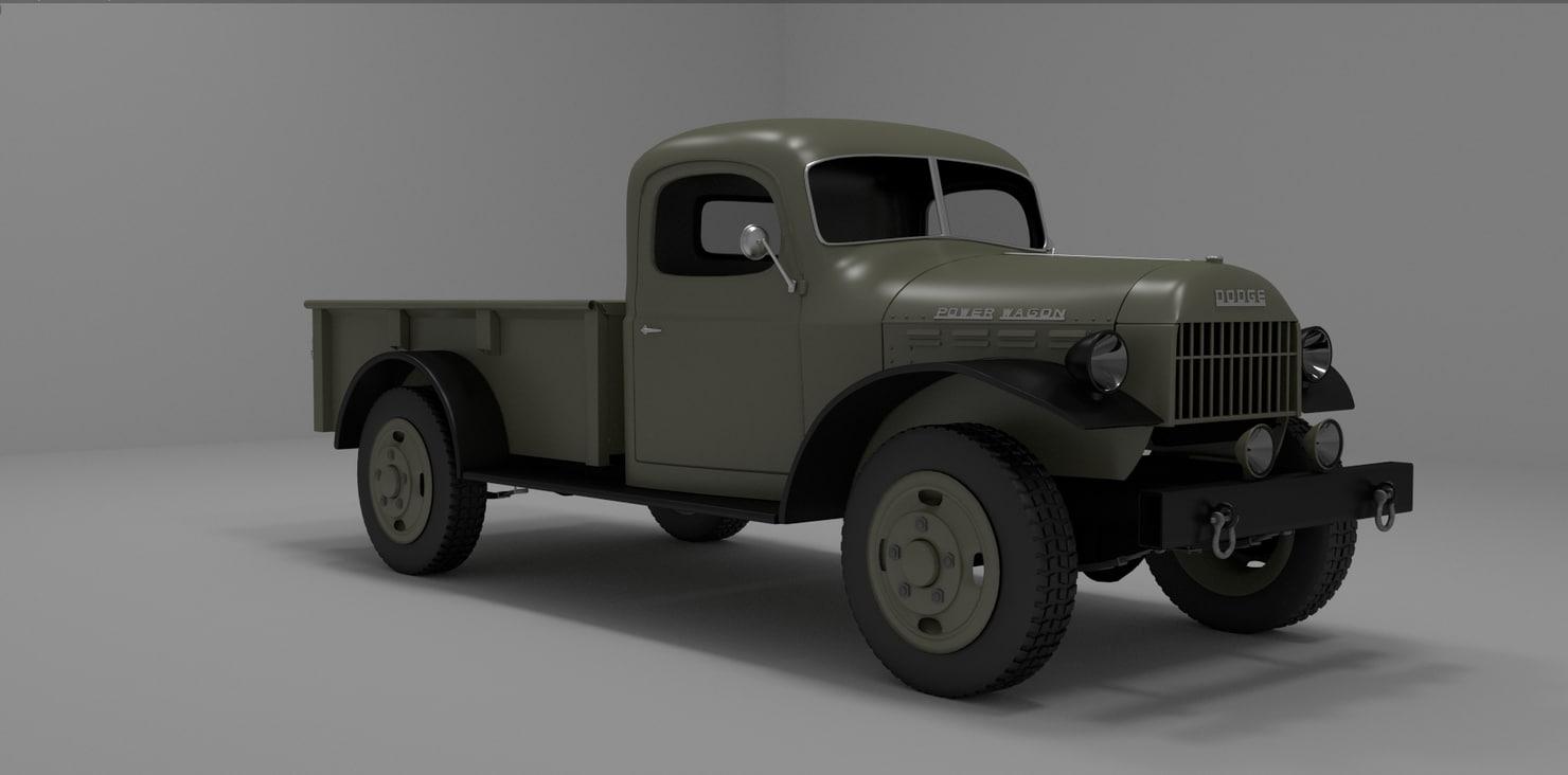3d dodge model