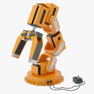 robotic arm 3d 3ds