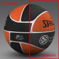 Basketball ball Euro_black