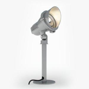 3d easylite spike gu10 light model