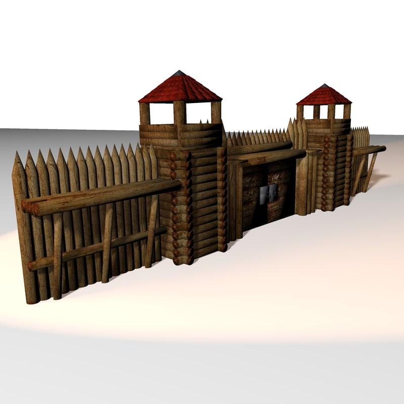 obj medieval defence