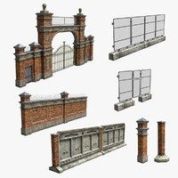 Industiral Fence Set