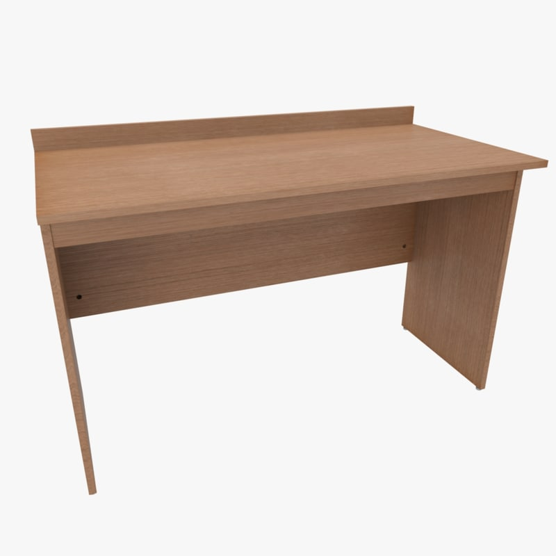 3d model desk table