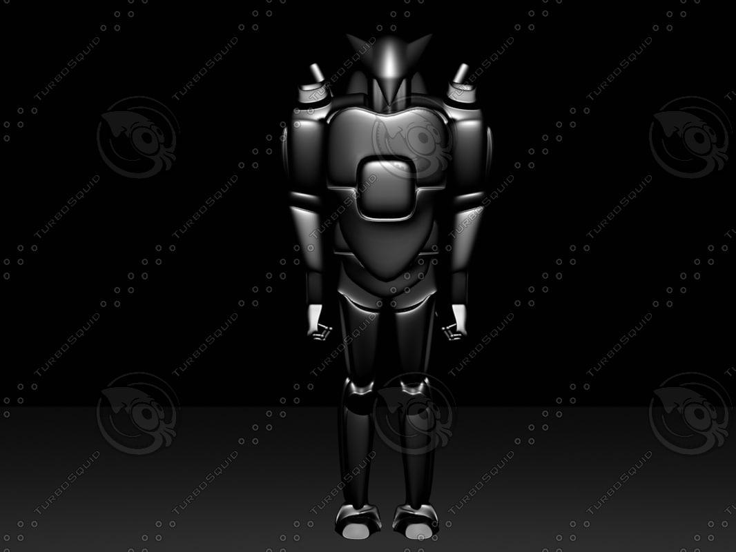 3d model robot1