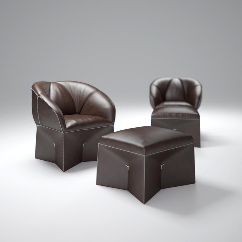 de-sede-chair-ds-315 3d model