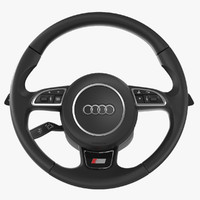 Audi S-line Steering Wheel and Steering Column